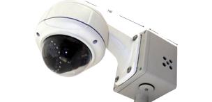AHD DVR ドーム型カメラ